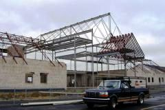 new structure at Calvary Baptist Church