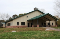 New dining hall at Girl Scouts Camp Innisfree